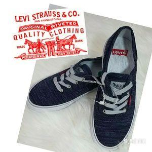 Denim LEVIS sneakers size 7.5 [1]